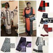 ribbon sillk high quality african wa print silk print fabric 2yards chiffon matching 4yards satin silk free shipping
