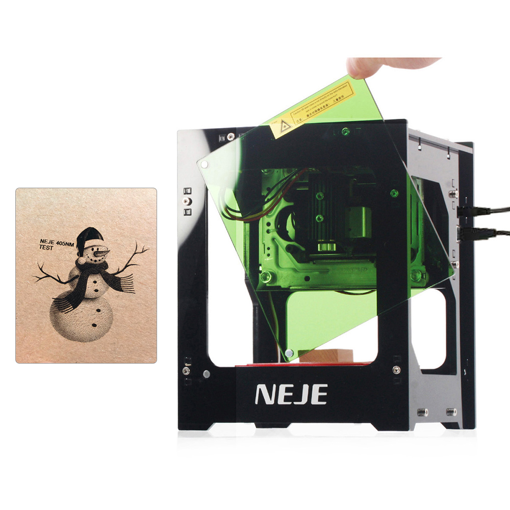 NEJE DK-8-KZ Laser Engraving Machine 1000/2000/3000mW DIY Automatic CNC Wood Router Laser Cutter Engraver Cutting Machine Лазерная гравировка