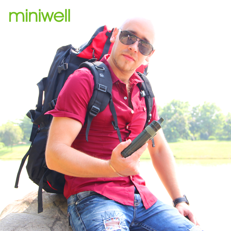 Miniwell L600 Portable Straw Water Purification Kit For Camping,trekking,backpacking