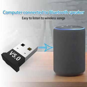 Nadajnik Bluetooth USB Adapter do odbiornika Dongle Usb do laptopa słuchawki Audio drukarka słuchawki do komputera domowe Stereo samochodowe HIFI Audio tanie i dobre opinie Skatolly NONE CN (pochodzenie) Brak Podwójne DS454 Windows Android Linux FREERTOS ThreadX UITRON Max 24Mbps Bluetooth V5 0