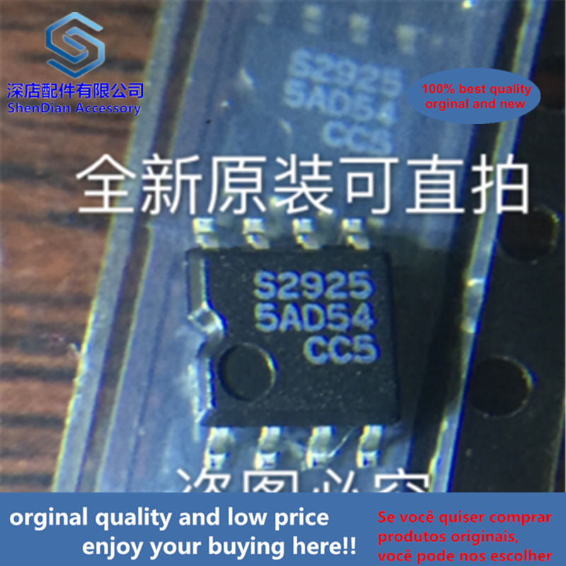 5pcs 100% Orginal And New S-29255AFE-TF S29255 SOP8 S2925 SOP   Best Qualtiy