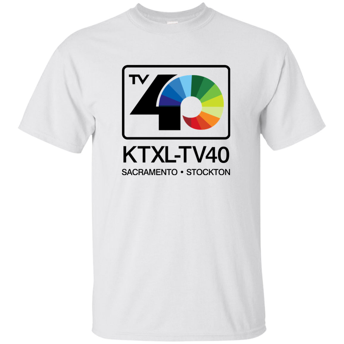 KTXL, TV, TELEVISION, CHANNEL 40, Stockton, Sacramento, California, Local Affili Cool Casual pride t shirt men Unisex New