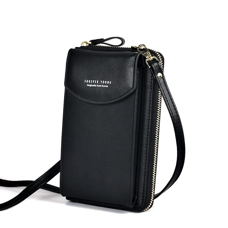 PU Luxury Handbags Women's Bags for Woman 2020 Ladies Hand Bags Women's Crossbody Bags Purse Clutch Phone Wallet Shoulder Bag 3