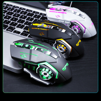 3200DPI Adjustable Wireless Optical Gaming Mouse Cool Pro Gamer Gaming Mouse LED Computer Mice USB Receiver Mouse For Laptop PC hot sale 7 key gaming mouse 2 4ghz wireless mouse gamer 2400 dpi mice optical usb receiver pc computer wireless for laptop gifts