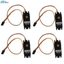 4pcs/lot Feetech FS5113R 360 Degree Continuous Rotation Servo 13kg.cm for Robot ESP8266 цена и фото