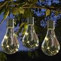 Водонепроницаемый Солнечный светодиодный декоративный светильник, гирлянда со светодиодными лампами, сказочный светильник, гирлянда для ...
