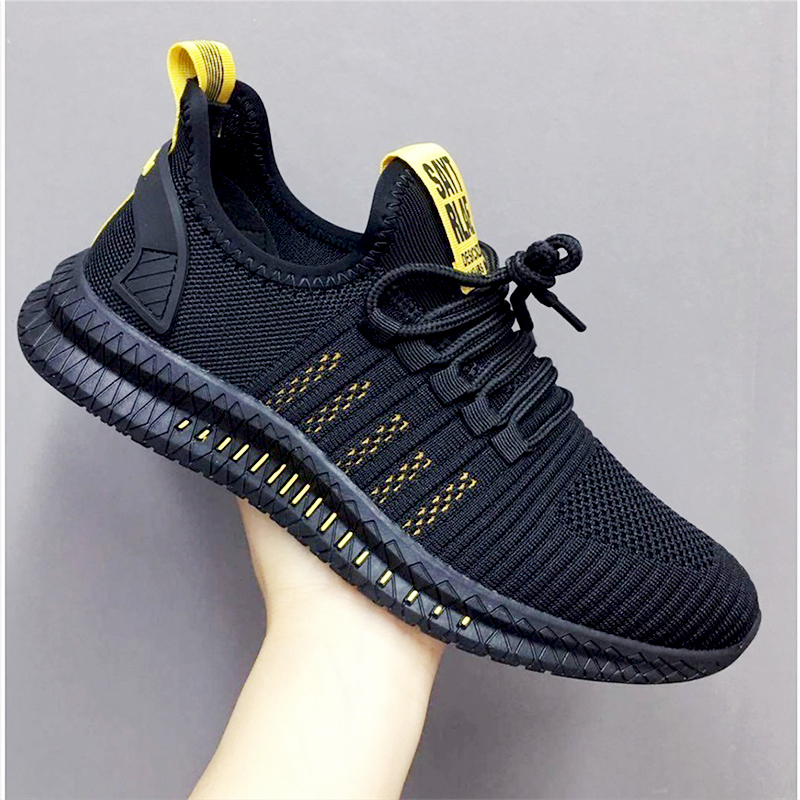 2019 fashion casual shoes mesh men sneakers Lightweight Lac up Men Shoes Breathable Walking Sneakers KITLELER Zapatillas HombreMens Casual Shoes   -
