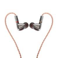 TINHiFi P1 Hifi наушники без микрофона Олово аудио P1 с кабель MMCX наушники