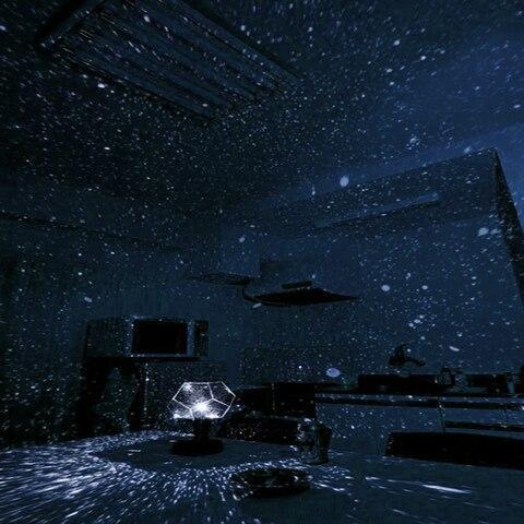 lampada led magia astro starlight galaxia estrela
