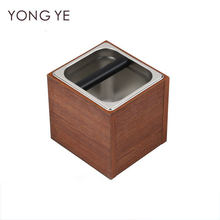 2500ml Coffee Powder Slag Box Stainless Steel Within Box Can Dismantling Type Coffee Powder Slag Box(China)