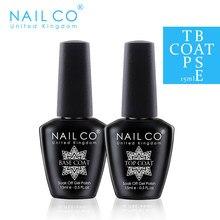 NAILCO TOP Base Coat Gel Set Gel Nail Polish Semi Permanent Lacquer Long Lasting Nail Art Varnish Hybrid Resin 15ML 47 Color