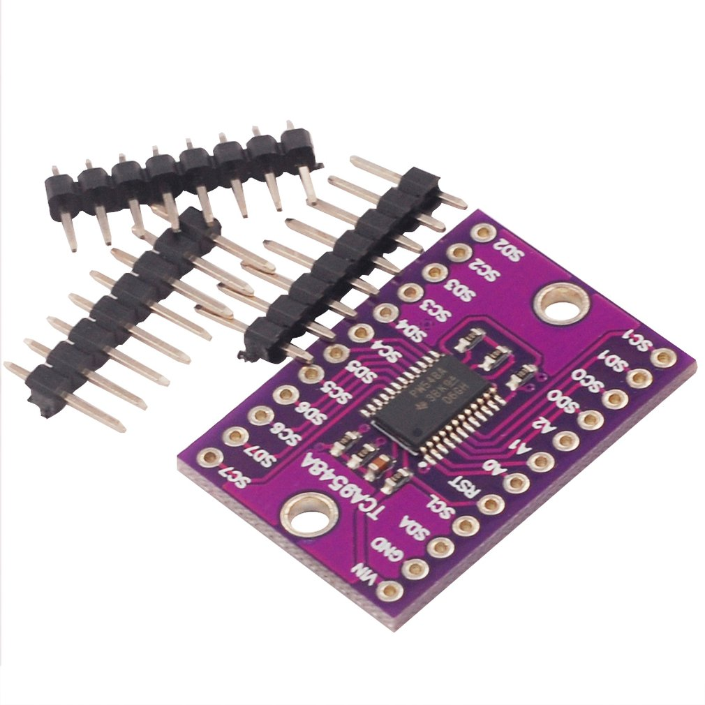 TCA9548A 1-to-8 I2C 8 Way Multi-Channel Expansion Board IIC Module Development Board Multi-channel Expansion Development Board