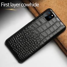 Deluxe crocodile back cover Phone case For iPhone 11X Xs Xr Pro Max phone for 6 6s 7 8 6P 7P 8P Plus