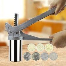 Cookware Pasta-Machine Crank-Cutter Noodle-Maker Press Fruits-Juicer Manual Stainless-Steel