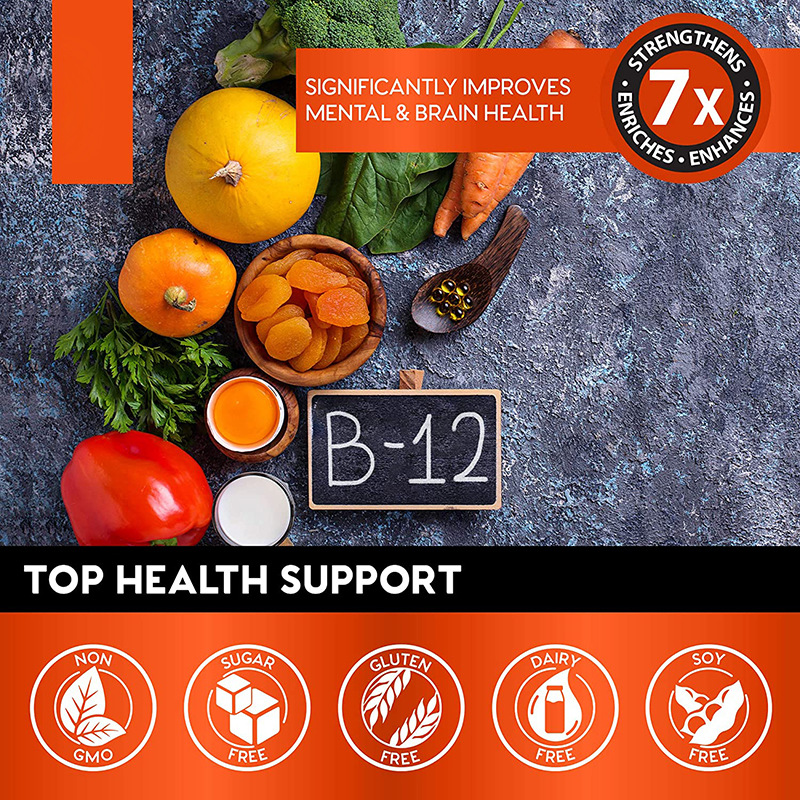 60ML Vitamin B12 Drop Supplement Vegan Essential Supplements Nutro Vegan 3
