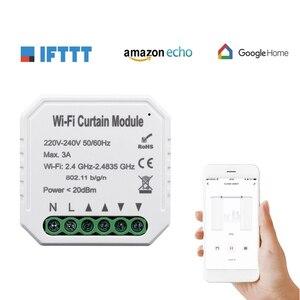 Image 5 - Tuya Smart Life WiFi Curtain Switch Module for Roller Shutter Electric Motor Google Home Alexa Echo Smart Home