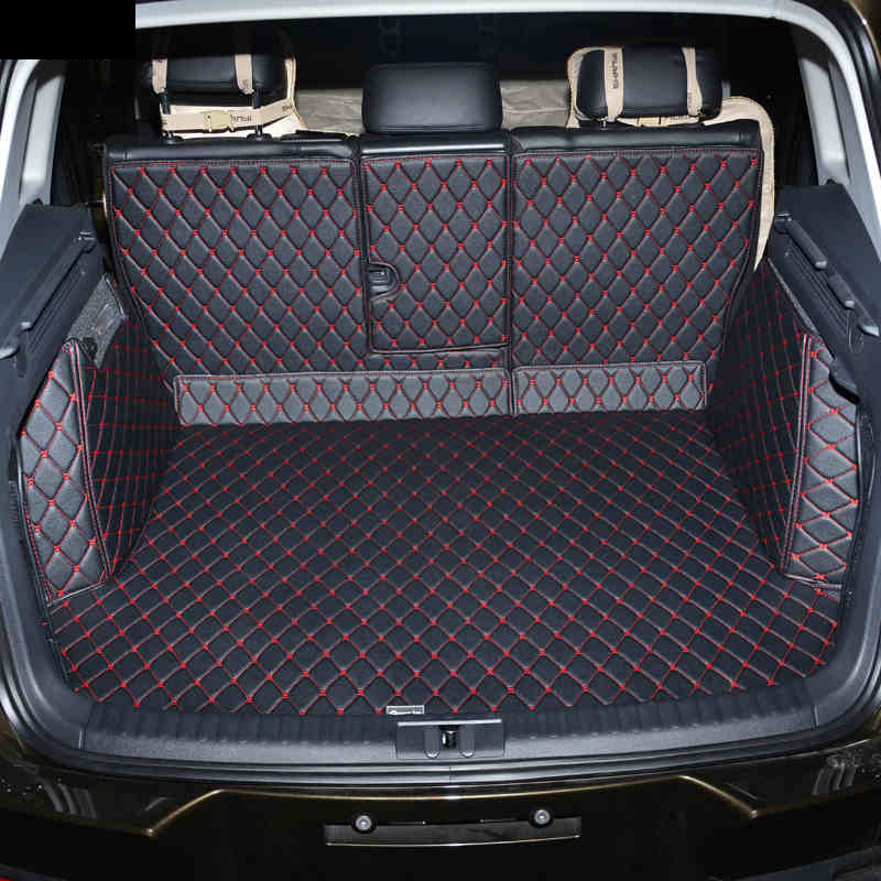 Lsrtw2017 Leather Car Trunk Mat For Volkswagen Tiguan 2007 2008 2009 2010 2011 2012 2013 2014 2015 2016 2017 Vw Cargo Liner