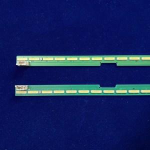 "Image 2 - 2 قطعة x LED شريط إضاءة خلفي 55 ""V15.5 ART3 UD R/L ل LG 55UF6450 55UH6150 55UF6430 LC550EGE 6916L2318A 6916L2319A 6922L 0159A"