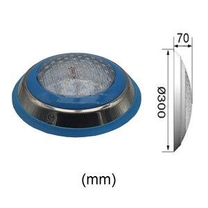 Image 5 - الأضواء LED حمام سباحة RGB مصباح تحت الماء 12 فولت التيار المتناوب سطح بلات أضواء نافورة IP68 مقاوم للماء 18 واط 36 واط 45 واط 54 واط