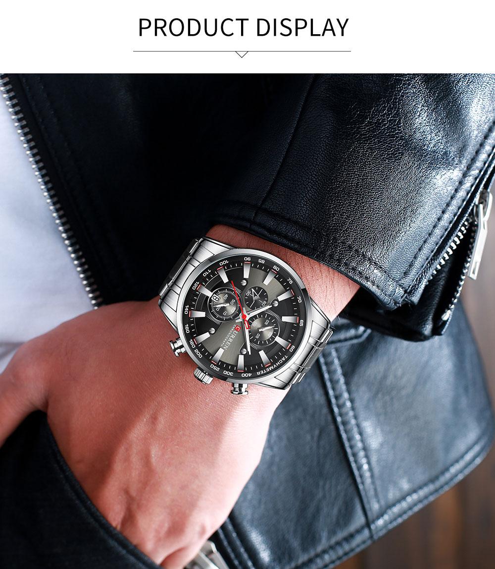 CURREN 8351 Chronograph Men Watch 2