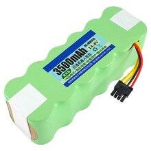 (Para x500, x550, b2000, b3000, b2005, b2005 plus) bateria para carpete robô limpador, peça de reposição dc14.4v 3500mah ni mh