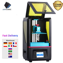 3D принтер ANYCUBIC Photon SLA/LCD размера плюс высокая точность 405 УФ Смола светильник отверждаемый экран 2K Impresora 3D drucker