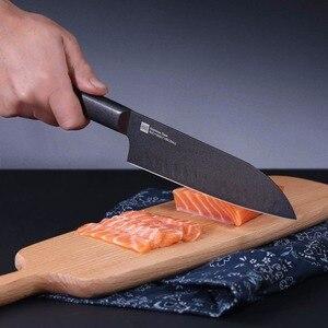 Image 2 - Original Xiaomi HuoHou Kitchen Set 4 PCS Nano ceramic Knife 4 6 8 Inch Lightweight and Environmentally Non stick Ceramic Knife
