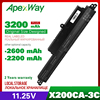"""3cell 11,25 V Laptop Batterie Für ASUS X200CA X200M X200MA X200CA X200LA 11.6 """"A31N1302 A31LM2H A31LM9H A3INI302 1566 6868"""