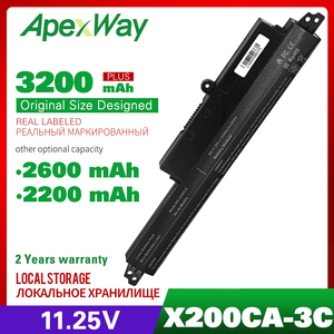 "Image 1 - 3cell 11.25V  Laptop Battery For ASUS X200CA X200M X200MA X200CA X200LA 11.6"" A31N1302 A31LM2H A31LM9H A3INI302 1566 6868"