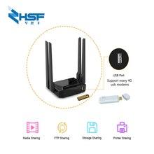 Roteador wifi 300mbps suporte zyxel e keenetic, omni ii 3g usb modem 8372 /e3372 mt7620 chip abridor roteador com antena usb wfi