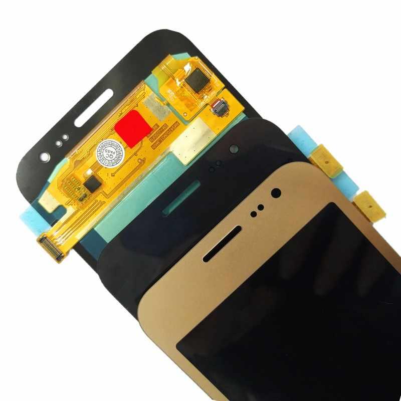Test Samsung Galaxy J2 2015 lcd monitör J200 J200F J200H SM-J200FN dokunmatik ekran digitizer bileşen
