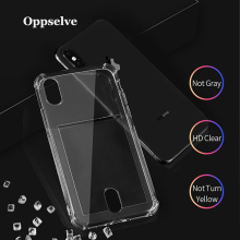 Oppselve For iPhone 6 6S 7 8 Plus Ultra Thin Case X XS Max XR Clear TPU Phone Cases Coque Fundas Capinhas Capa