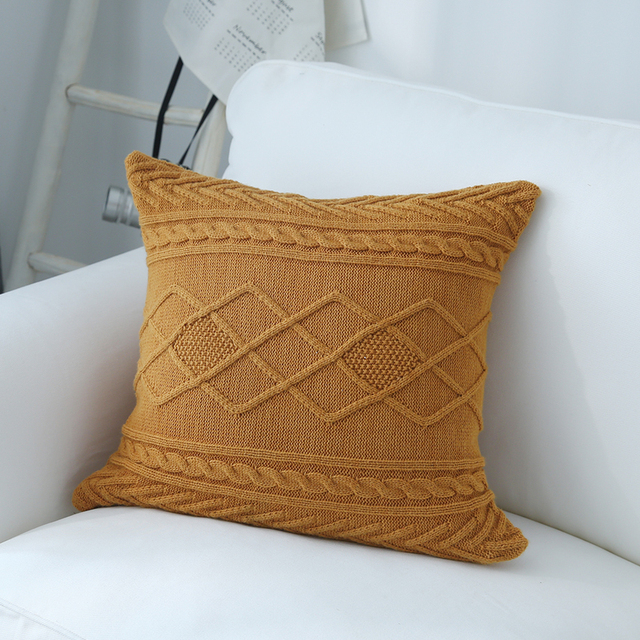 knitted Scatter Cushions 5