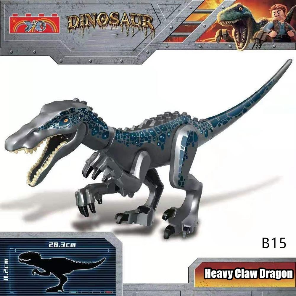 New Jurassic World Park Dinosaurs Bricks Kids Toys Compatible Legoing Building Blocks Juguetes Dinosaur For Children DIY Gifts