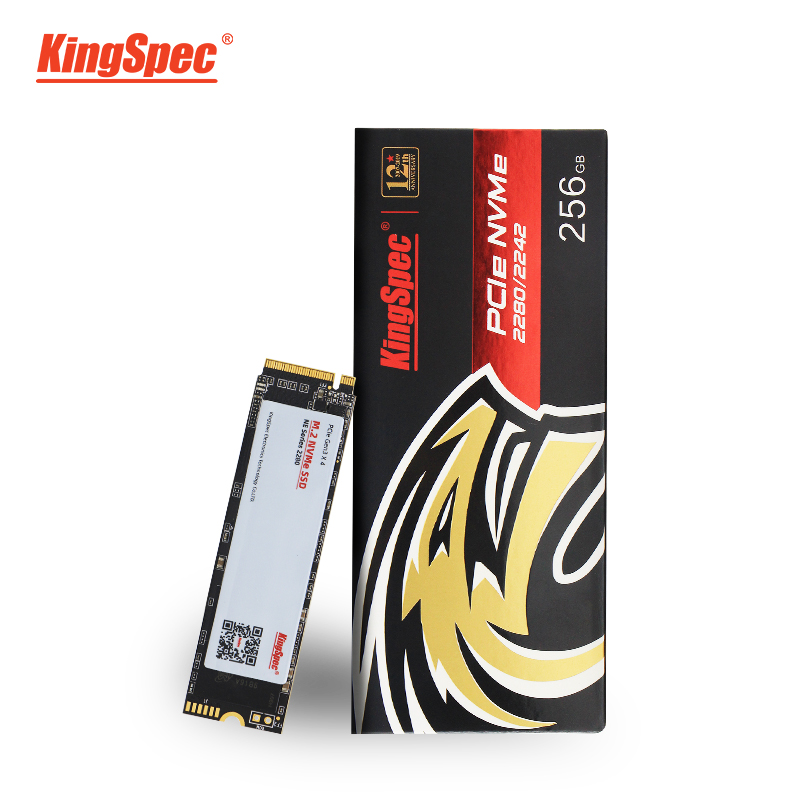 <font><b>KingSpec</b></font> M.2 <font><b>ssd</b></font> M2 240gb PCIe NVME <font><b>120GB</b></font> 500GB 1TB Solid State Drive 2280 Internal Hard Disk hdd for Laptop Desktop MSI Asrock image