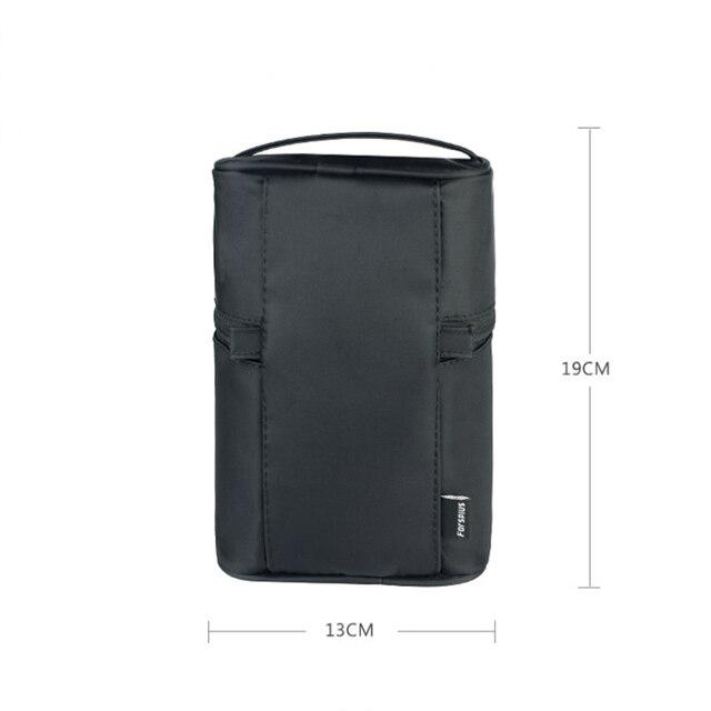 UOSC Makeup Bag Women Bags Men Large Waterproof Nylon Travel Cosmetic Bag Organizer Case Necessaries Make Up Wash Toiletry Bag 5