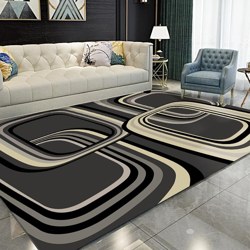 Geometric Carpets Anti Slip Balcony Rug