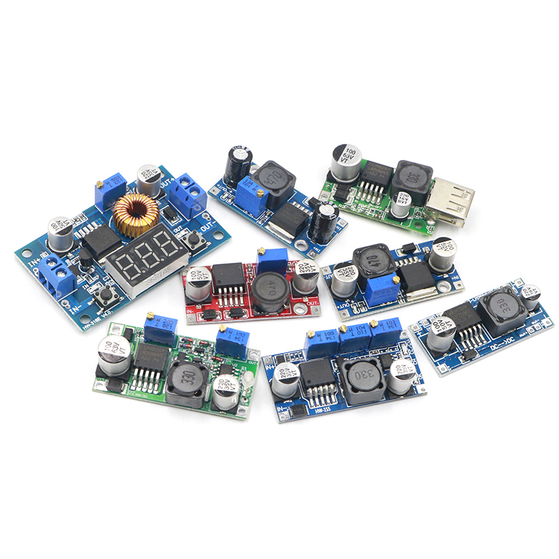 1PCS High Quality 3A Adjustable DCDC LM2596 LM2596S Input 4V-35V Output 1.23V-30V Dc-dc Step-down Power Supply Regulator Module