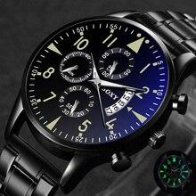 Classic Steel Watch relogio masculino Quartz Wristwatch Luminous SOXY M