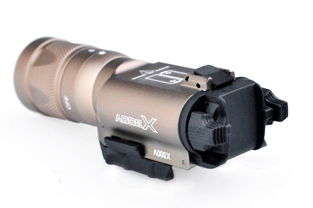 220 lm lâmpada de caça surefir x300v