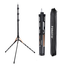 Fosoto FT 190 Gold Light Tripod Stand 1/4 Screw Bag Head Softbox For Photo Studio Photographic Lighting Flash Umbrella Reflector