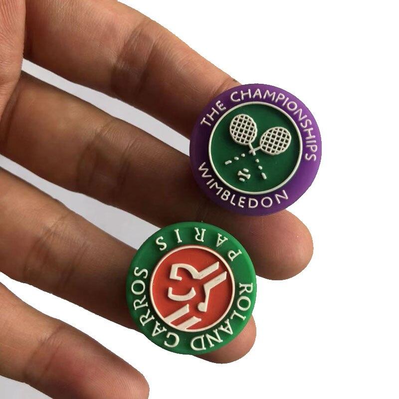 10pcs NEW 2019 Game Tennis Racket Damper Shock Absorber To Reduce Tenis Racquet Vibration Dampeners Raqueta