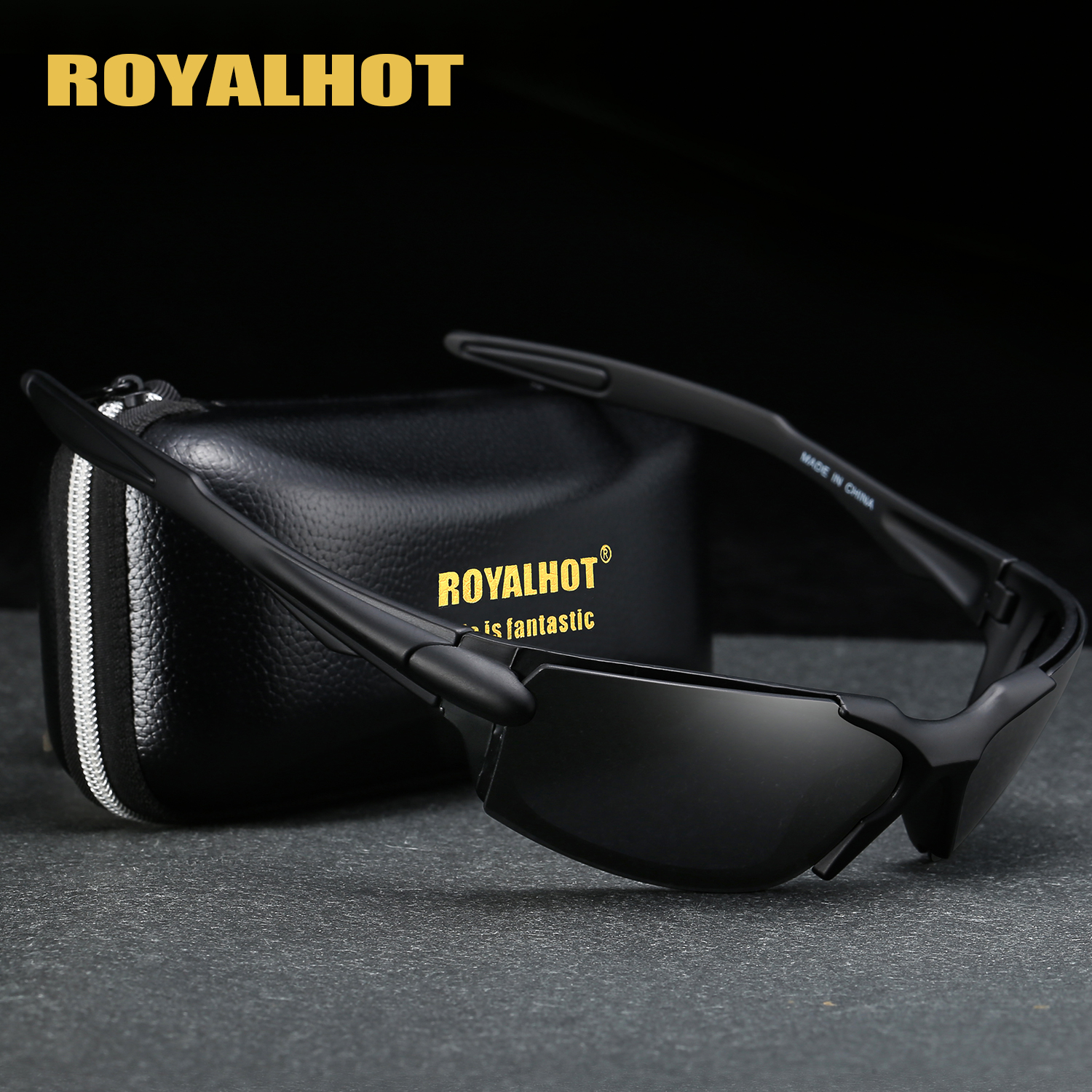 US $8.57 56% OFF|RoyalHot Men Women Polarized Elastic Sports Sunglasses Vintage Sun Glasses Retro Eyewear Shades Oculos Male 900187|Men