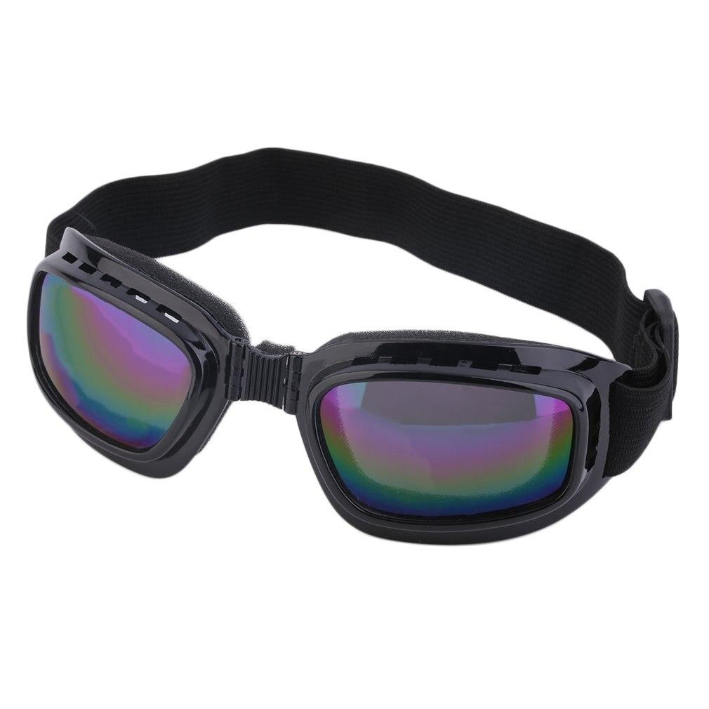 Unisex Safety Goggles Foldable Colorful Anti Polarized Windproof Goggles Anti Fog Sun Protective Adjustable Strap Glasses