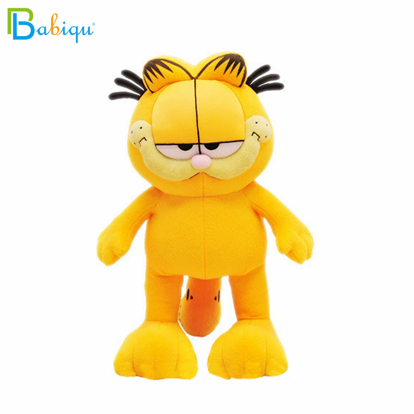 1pc 20cm Hot Selling Cartoon Garfield Plush Toy Garfield Cat Plush Stuffed Doll High Quality Soft  Figure Doll For Kids Children