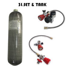 AC103101 רובה דחוס אוויר פיינטבול טנק 3L Hpa 4500Psi צילינדר Pcp קונדור סקובה טנק Ce עבור Carabina ציד צלילה