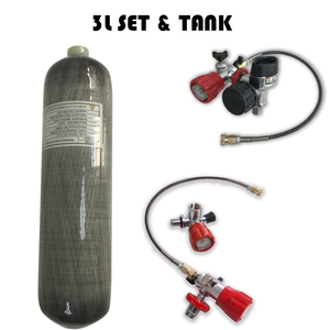 Image 1 - AC103101 Rifle Compressed Air Paintball Tank 3L Hpa 4500Psi Cylinder Pcp Condor Scuba Tank Ce For Carabina Hunting Diving