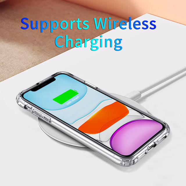 Shockproof Luxury Clear Transparent Silicone Phone Case For iphone 5 5S SE 6 6S 7 8 X XS 11 Pro MAX XR Plus 2020 Protection Case 3