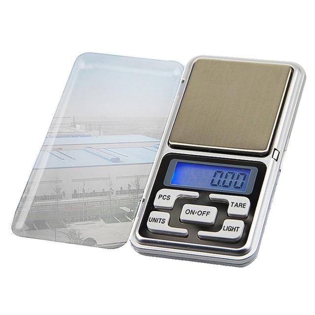 Hoomall Mini Weegschaal Hoge Nauwkeurigheid Weeg Balance Pocket Precisie Elektronische Sieraden Weegschalen 500G X0.01g Mini Digitale Weegschalen