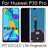 6.47 TFT LCD For Huawei P30 PRO LCD Display Touch Screen Assembly Replacement for Huawei P30PRO LCD Display VOG L09 L04